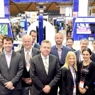 NSW Minister for Industry, Resources & Energy Anthony Roberts attends the opening day of CeBIT Australia, 2016 Homebush, Sydney, 2 May,2016.