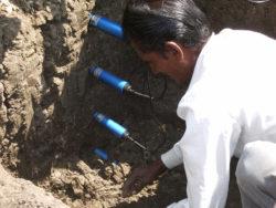 In soil wall